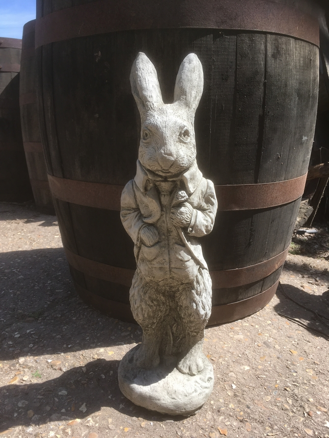 Dressed Rabbit Statue