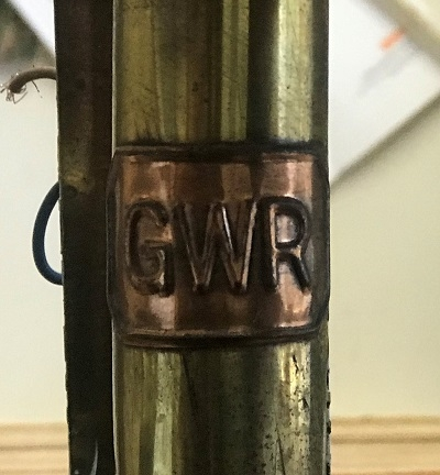Pair Of GWR Great Western Railways Carriage Candle Lamp Brass Wall Lights