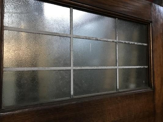 Reclaimed Glazed 1 over 3 Solid Oak Door