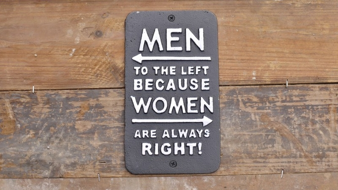 Sign (Women Right) 3709