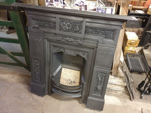Reclaimed Original Combination Fireplace
