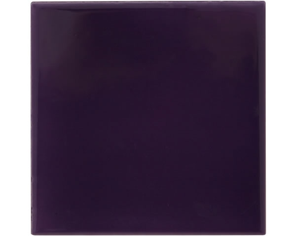 Set of 10 Plain Purple Tiles