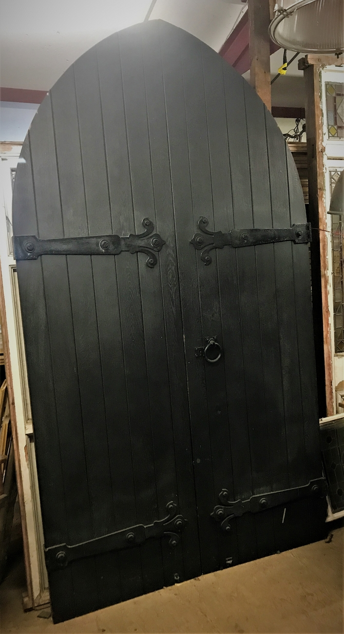 Large Arched Church Doors