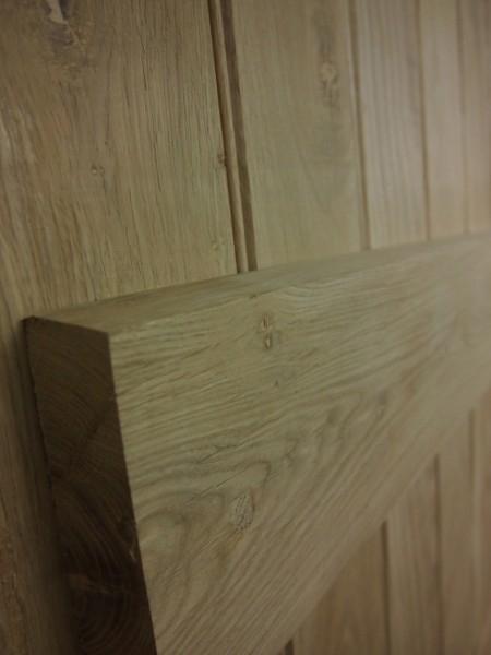 Solid Oak Plank Door 30