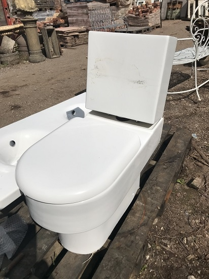 Reclaimed White Idea Standard Toilet