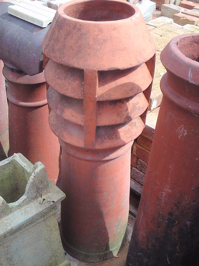Louvred Chimney Pot