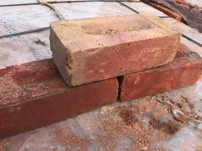 Reclaimed Bricks 230 x 110 x 70mm