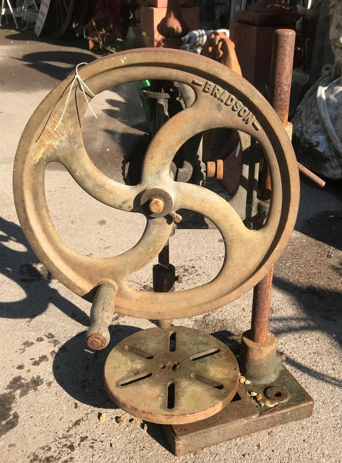 Vintage Bradson Pillar Drill SOLD