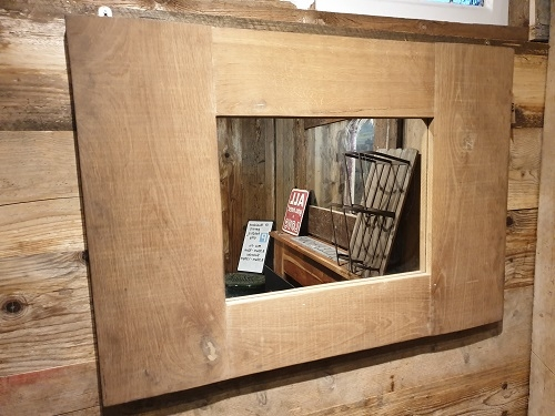 Bespoke Oak Framed Mirror