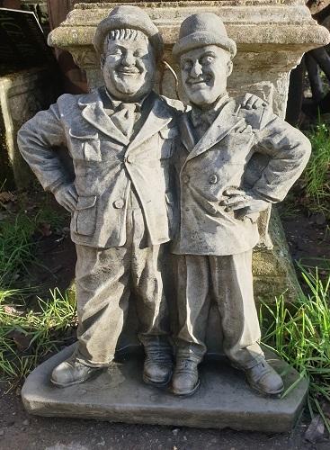 Laurel & Hardy Statue