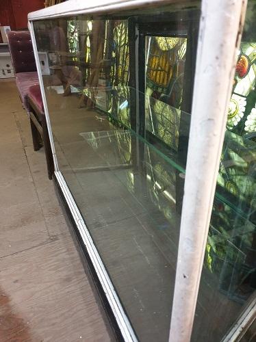 Vintage Glass Haberdashery Display Case
