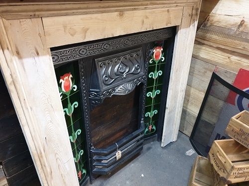 Original Stripped Victorian Fire Surround