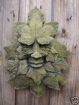 Sycamore Green Man plaque