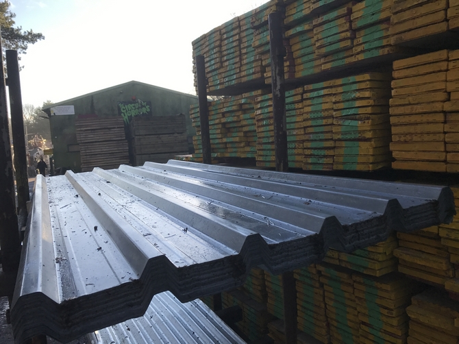 Box Profile Galvanised Roof Sheet (8ft - 2440mm)