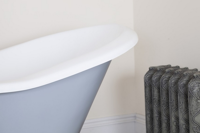 Banburgh Small Cast Iron Bath