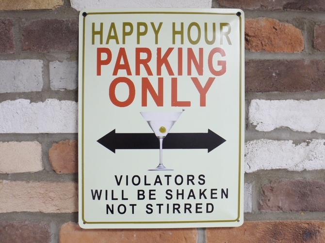 Sign (Happy Hour) 4860