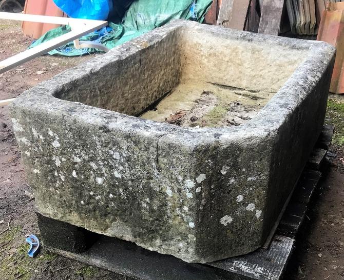 Reclaimed Stone Trough