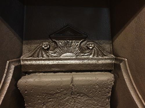Original Victorian Combination Fireplace