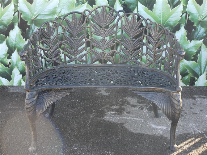 Cast Iron Bench S15