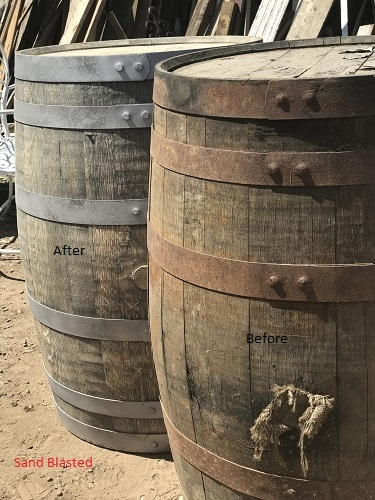 Oak Barrels Refurbished