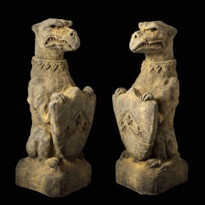 Pair Nasher Griffins SOLD