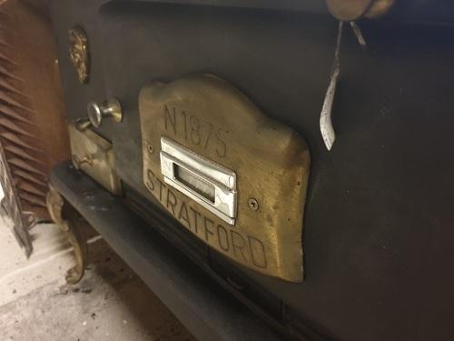 Vintage Cast Iron Stratford N1875 Stove