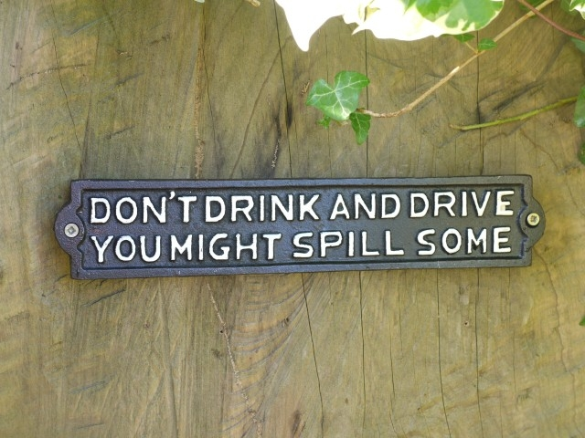Sign - Don't Drink & Drive 2849