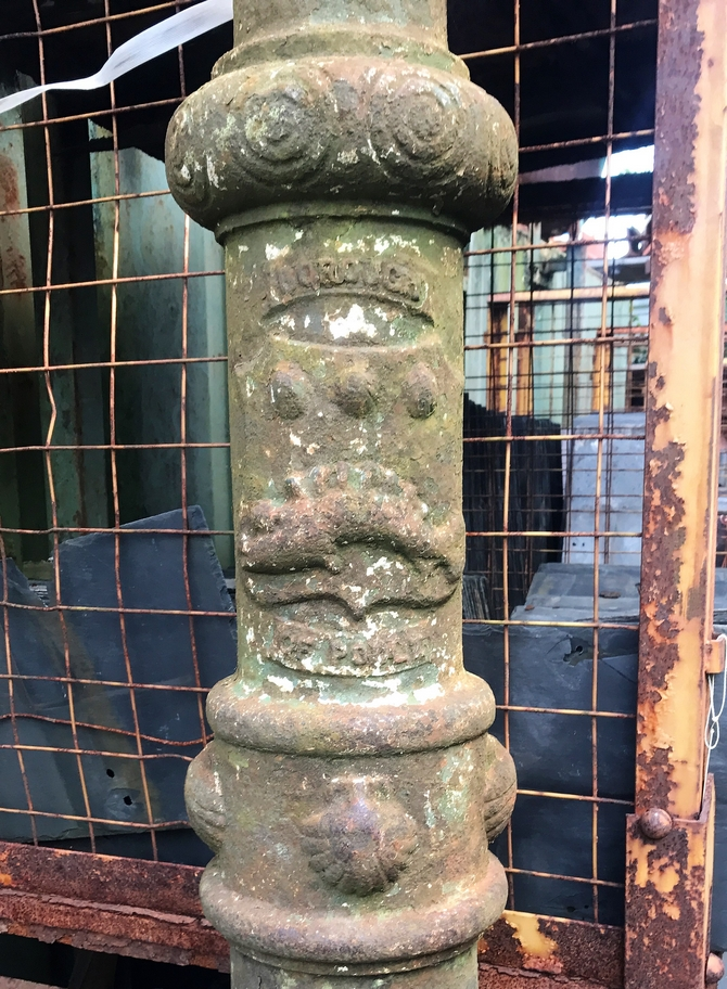 Reclaimed Borough of Poole Lamp Posts