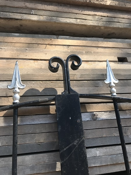 Reclaimed Decorative Wrought Iron Gates L: 329 x H: 213 cm