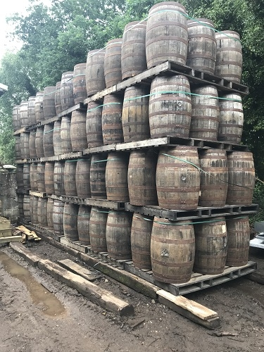 Oak Whiskey Barrels 200 litres