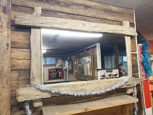 Bespoke Driftwood Framed Mirror
