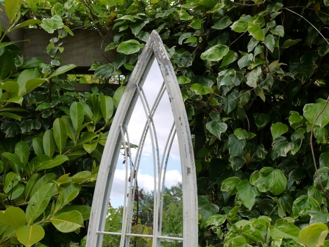 Metal Arch Mirror (LG) 3373