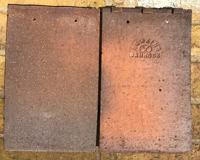 Reclaimed Hawkins Cannock Roof Tiles
