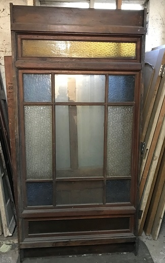 Salvaged 10 Panel Glazed DIvider