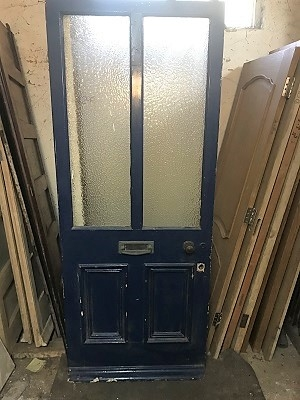 Reclaimed Glazed Front Door