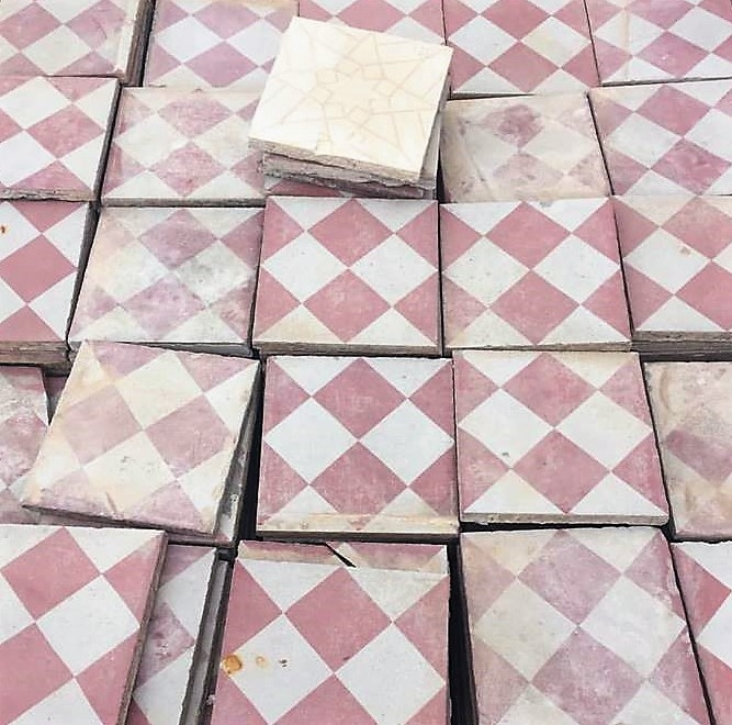 Selection of Reclaimed Tiles