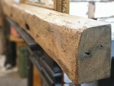 Reclaimed Oak Beam Inglenook Fireplace 2.09m