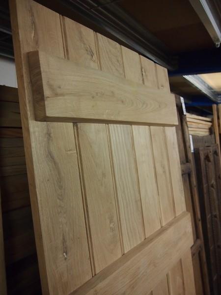 Solid Oak Plank Door 33″x78″