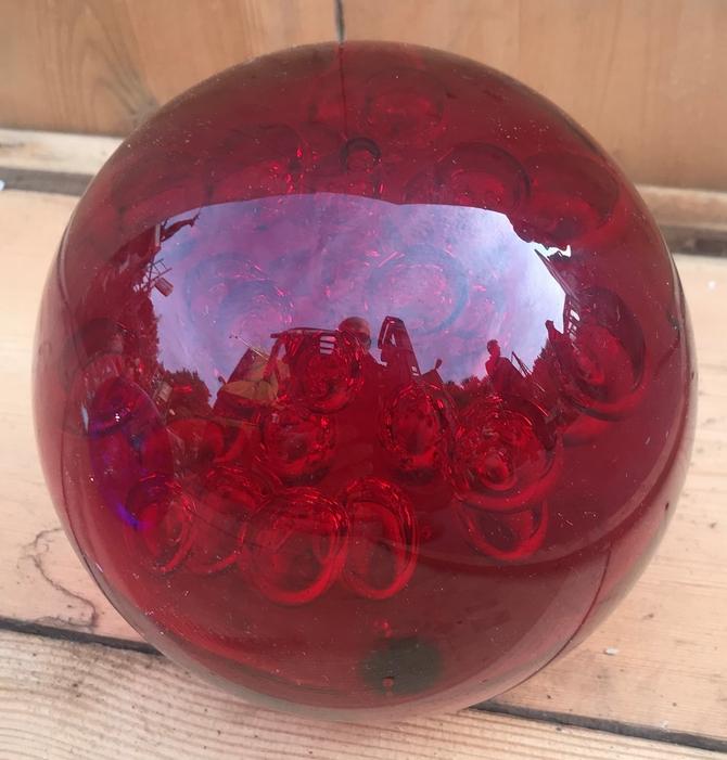 Coloured Glass Bubble Balls