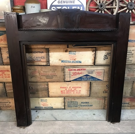 Original Decorative Wooden Fire Surround