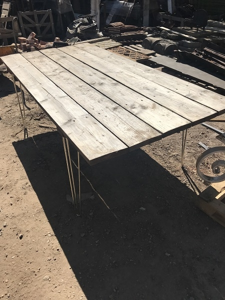 Large Bespoke Garden Table