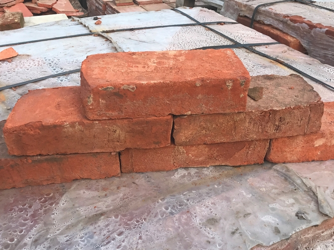 Reclaimed Bricks 235 x 115 x 50mm