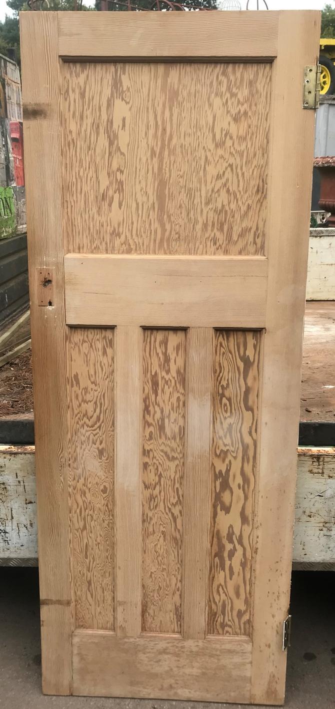 1 over 3 Panel Stripped Door 29.75