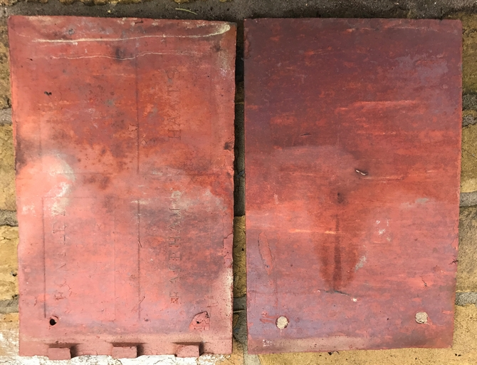 Reclaimed Fontley Brick Co Clay Roof Tiles