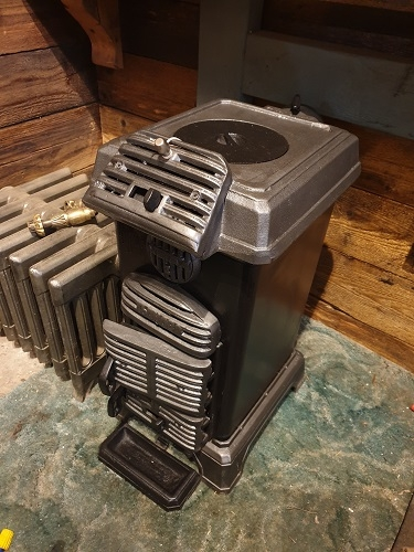 Small Original Refurbished Log Burner