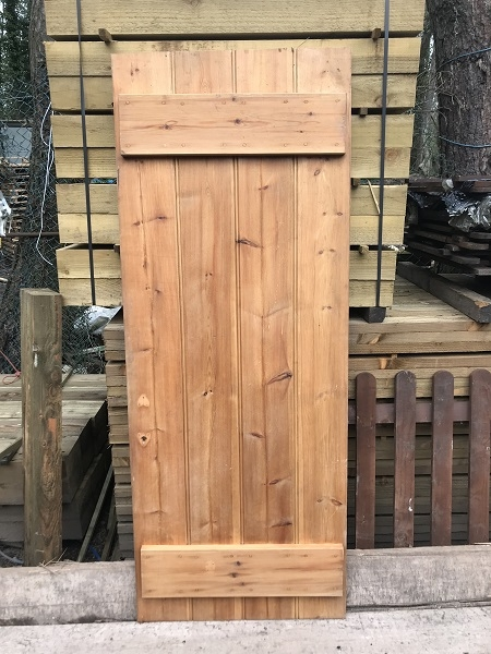Reclaimed Cottage Style Braced Door