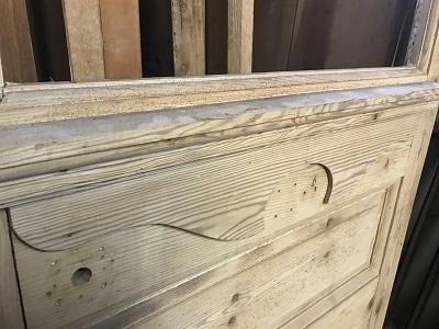 Reclaimed Glazed Stripped Door