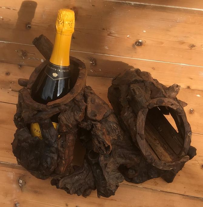Driftwood 2 Bottle Wine Holder