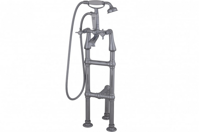 Freestanding Mixer Tap With 3rd Leg Support - Large