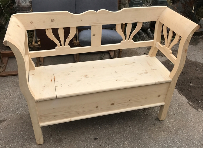 Handmade Two Seater Settle